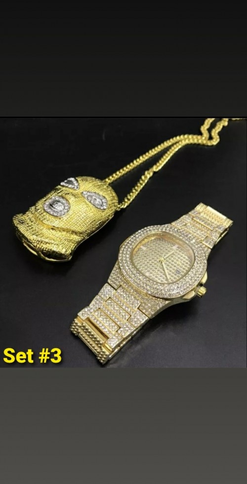 Iced Out Jewelry Set 3