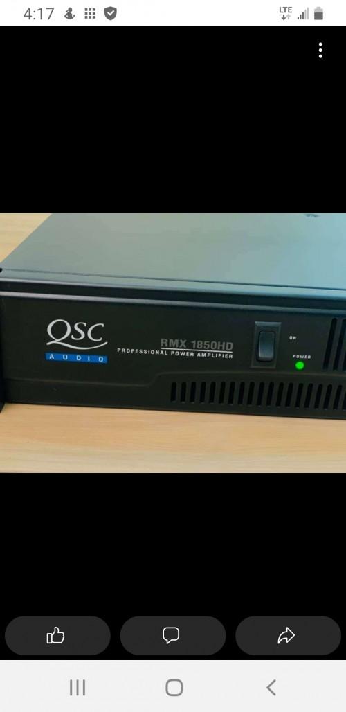 Qsc Rmx 1850hd