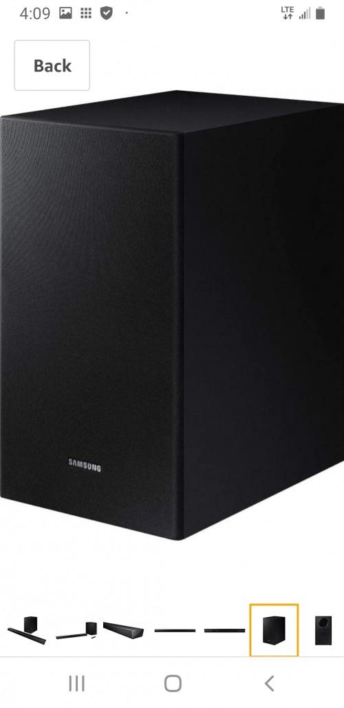 Samsung Soundbar T50m For Sale