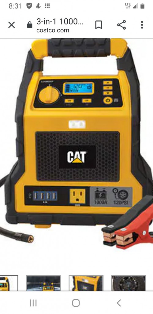 Cat Jump  Started Can  Run Light And Tv And More