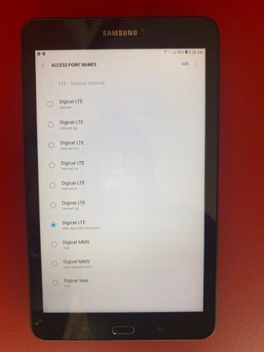 "8"" Samsung Galaxy Tab E 4G LTE Sim Unlocked"