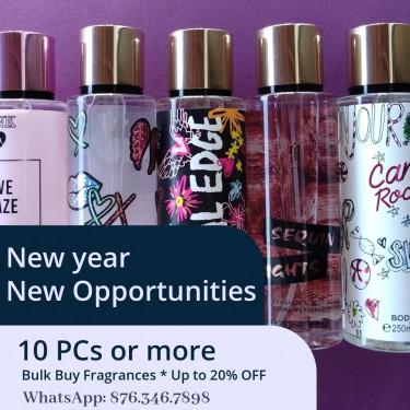 Fragrances (Body Mists & Body Creams)