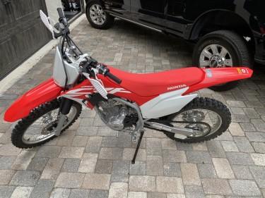 2021 HONDA CRF 250F