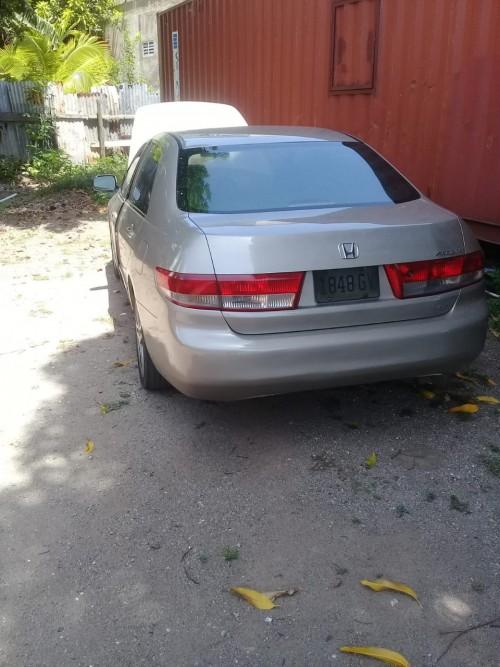 2003 Honda Accord Left Hand Drive