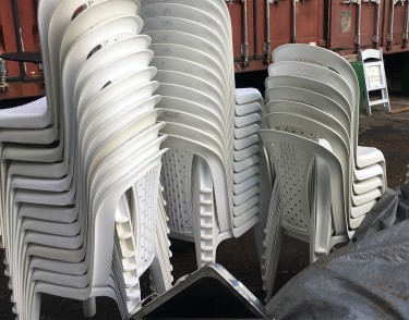 Plastic Armless Chairs