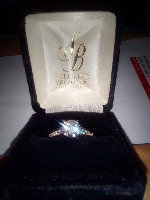 Diamond/Platinum Engagement Ring