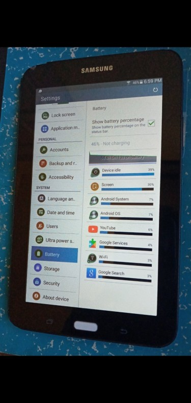 Samsung Tab E Lite 8gig Storage 8inch Tablet