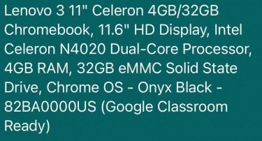 Brand New Lenovo 3 11