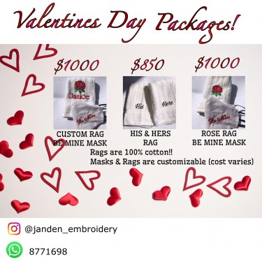 VALENTINES DAY PACKAGES!