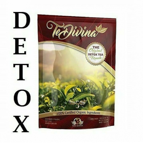 TeDivina Detox Tea With Weight Loss Benefit Plus