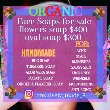 Organic Handmade Skincare Soaps For Sale