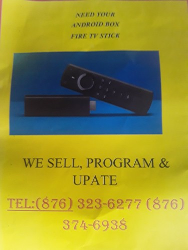 Fully Programme Amazon Fire Stick