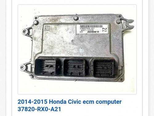 Honda Civic Si Ecu 2013 ~2015
