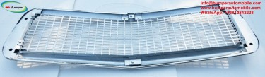 Volvo PV 544 Front Grill New Stainless Steel