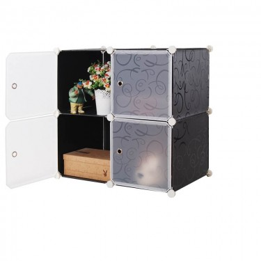 4 Cube Storage Cabinet (plastic) DIY