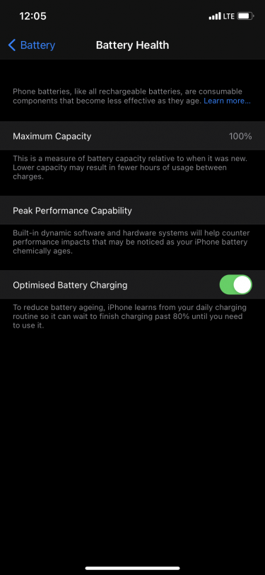 IPhone 11 64gig Battery Health 100 %