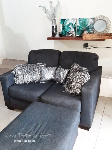 Ashley Furniture 2pc Love Seat
