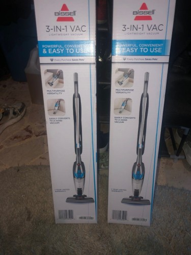 3- In-1 Vaccum For Home/car/office Great Suction