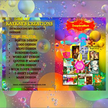 Hi I'm A Graphic Designer. I Design Posters Etc.