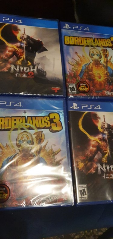 PS4 Games Brand New