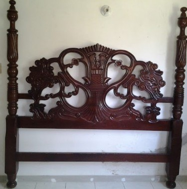 Hand Crafted King Size Head Board