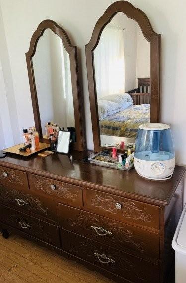 7 Drawer 2 Mirror Dresser