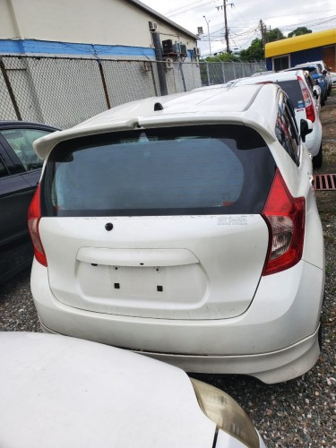 2012 NISSAN NOTE/ NEW SHAPE