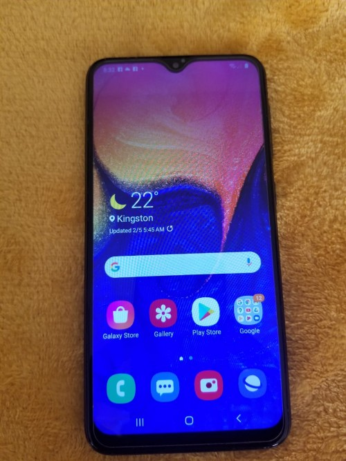 Samsung Galaxy A10 Clean Fully Up 32gb Case 19k