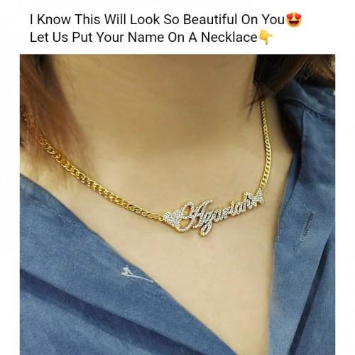 Stainless Steel Women's Choker Necklace