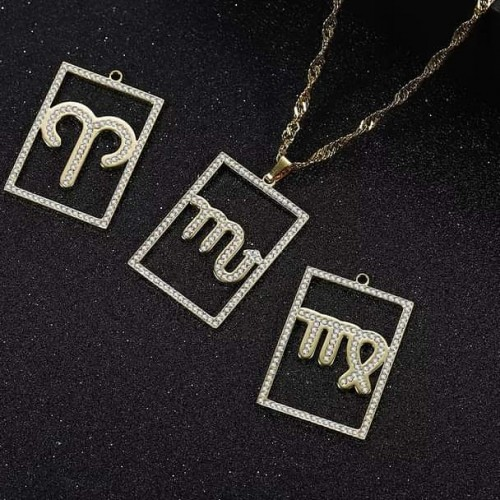 Let's Put Your Zodiac Sign On A Necklace