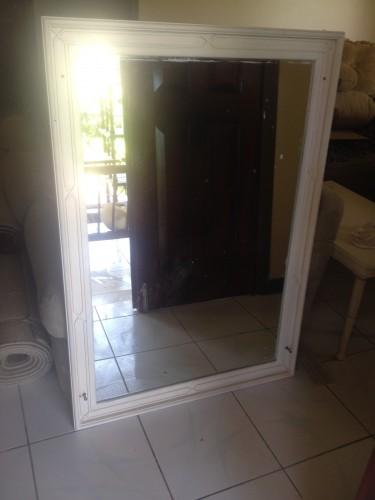 White Frame Mirror