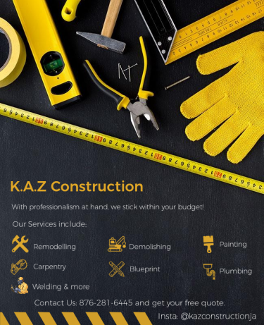 K.A.Z Construction For Home Repairs And Remodeling