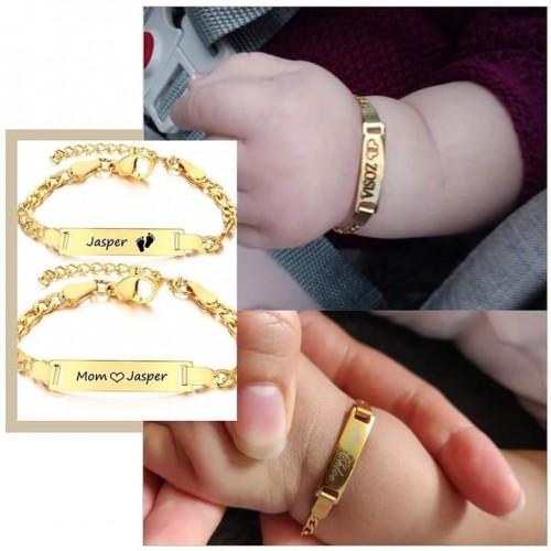 Customized Name Bracelet For Babies