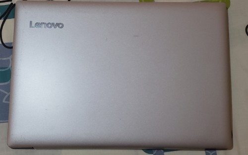 LENOVO IDEAPAD LAPTOP WITH SLEEVE.