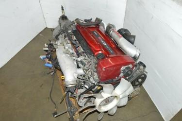 JDM 1999-2002 SKYLINE GT-R R34 RB26DETT AND GETRAG
