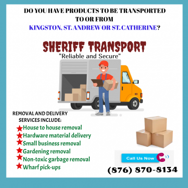 Removal Services  Removal Services Anywhere In Kingston Or St. Catherine