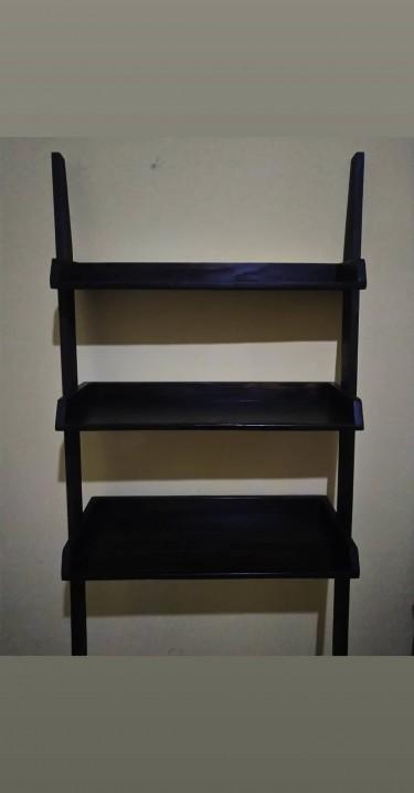 Over The Toilet Ladder Shelves