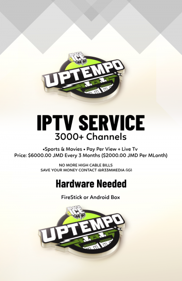 IPTV Service Available In Jamaica – 3000 Channels