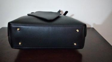 Large Black Tote Handbag
