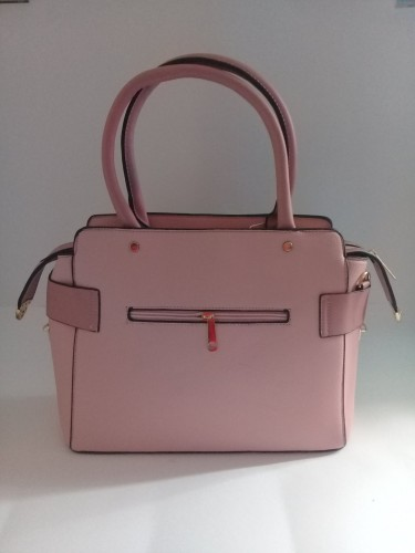 Pink Handbag Set (3 Pieces)