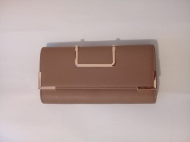 Nude/ Khaki Clutch Purse (also Available In Black)