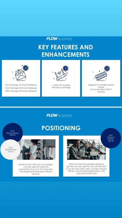 Flow Business Packages
