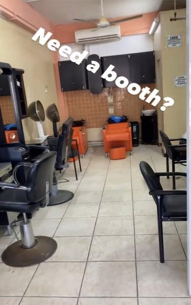 Booth Rentals (barber,hairdresser & Nail Tech)
