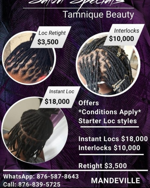 Hair Locking Specials . DONT MISS IT!