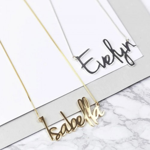 Carrie Style Customized Name Necklace