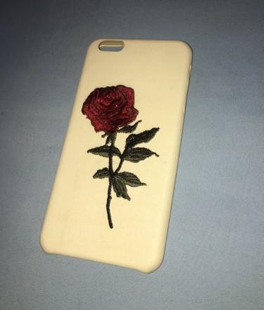 Iphone 6s Plus Rose Phone Case (textured)