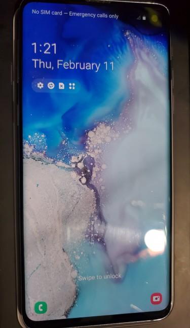 Samsung Galaxy S10 128gb Blue