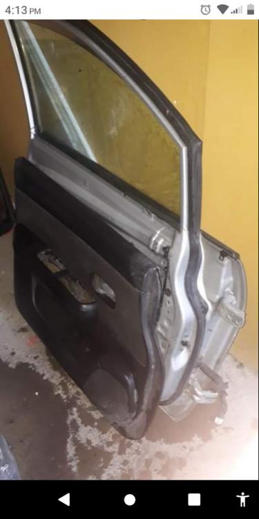 207 Nissan Tida   Front Door Passanger Side