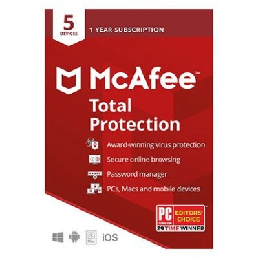 Buy McAfee Total Protection 2018 - Softwareexcelle