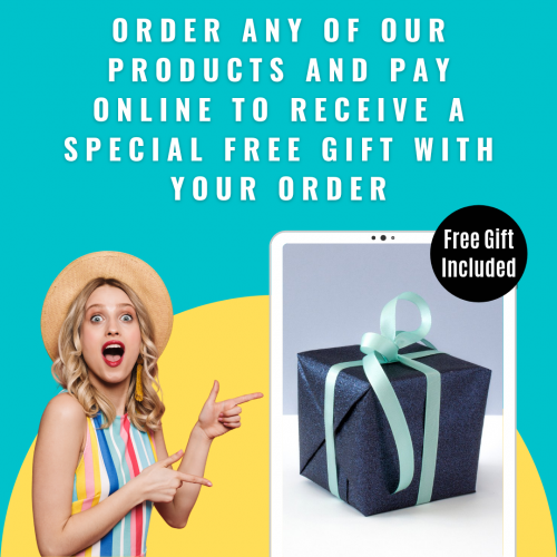 Order And Pay Online For A Special Free Gift